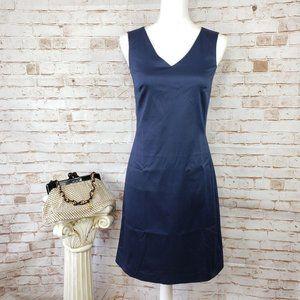 NWT The Limited 2 Stretch Sleeveless Blue Dress